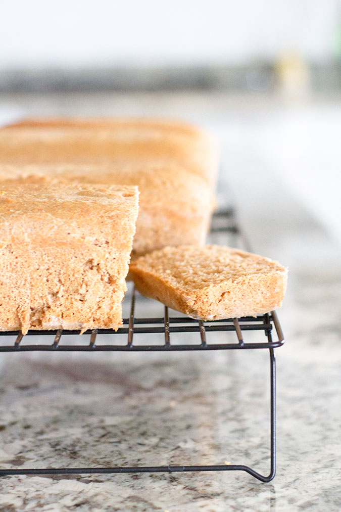 Moist Honey Whole Wheat Bread