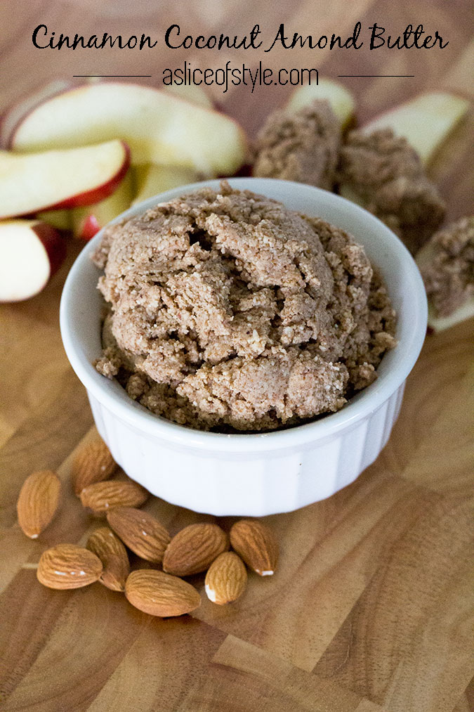 Cinnamon Coconut Almond Butter