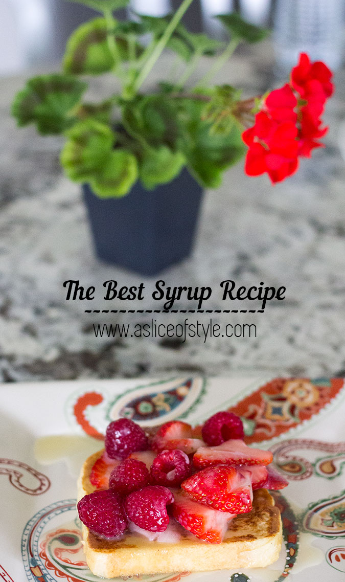 The Best Syrup Recipe
