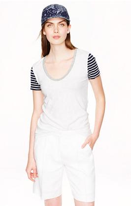 shirt, summer, t-shirt, sale, J. Crew, j crew, summer outfits