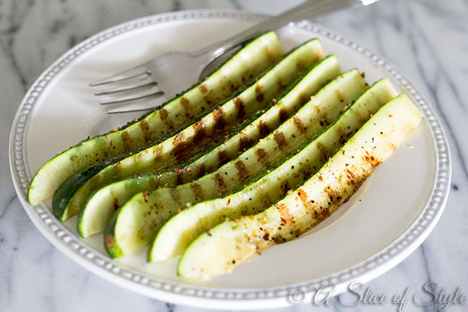 grilled, summer, grill, garden, fresh, side dish, simple