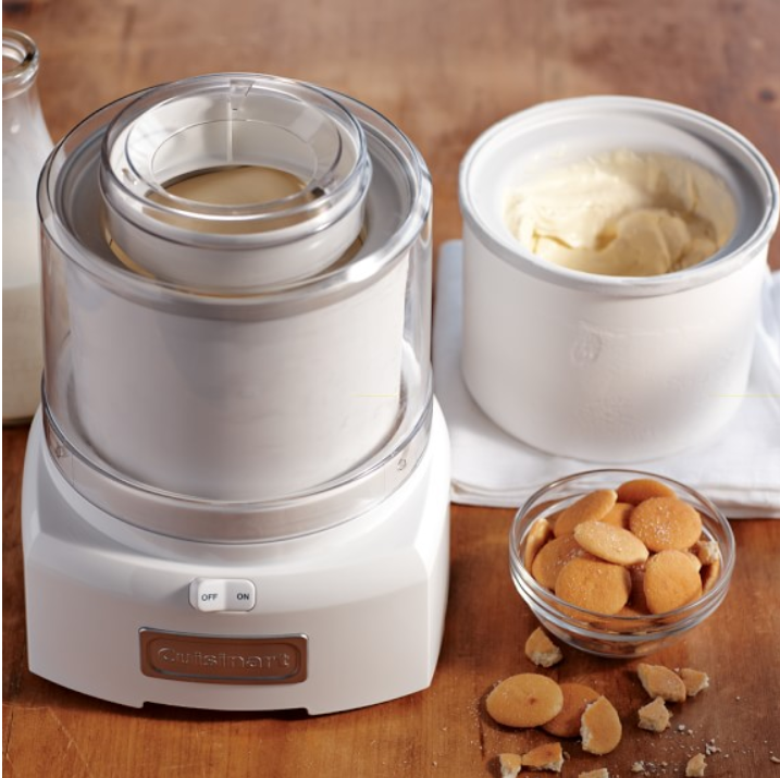 Ice cream maker sale, Williams-Sonoma, sale, deals, Christmas gifts, foodie gifts