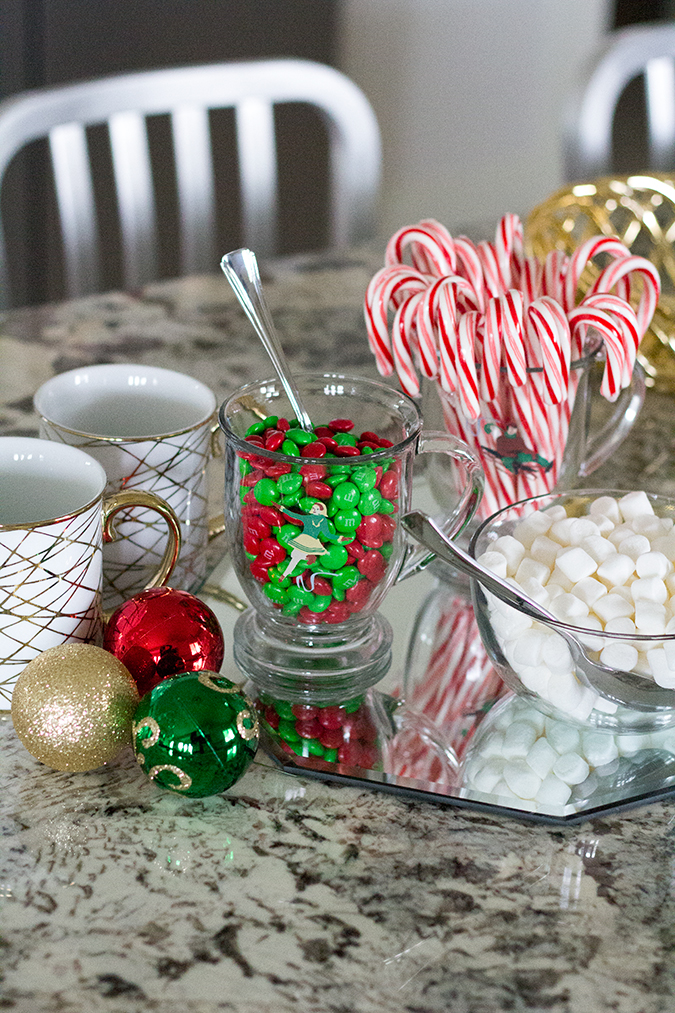 Hot chocolate bar, holiday party ideas, Christmas party ideas, Christmas party drinks, hot chocolate bar ideas