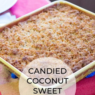 Candied Coconut Sweet Potatoes