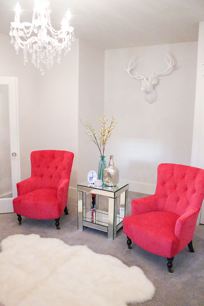 pink accent chairs living room new fuchsia chairs in my living room a slice of style 19875