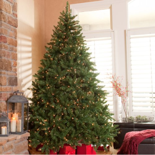 7.5 ft Pre-Lit Christmas tree only $129.97!!!! | A Slice ...
