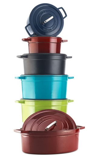 Martha Stewart cast iron pots, Martha Stewart cast iron on sale, good deals on cookware
