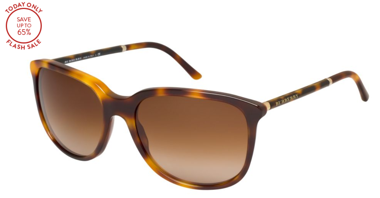 Tortoise Sunglasses Flash Sale! Burberry only $79.99, normally $205!!