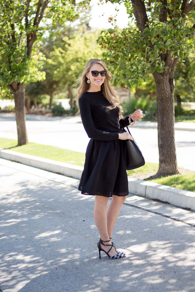 Cents of Style, affordable summer fashion, good deals on fashion, skirts, black skirt, cute sunglasses, good deals on sunglasses, great summer fashion, windowpane, windowpane fashion, windowpane pumps