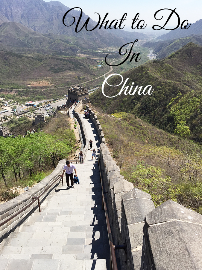 The Best Things to do in China!