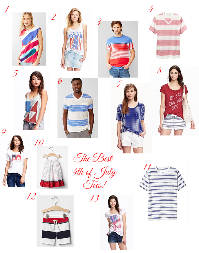 The Best 4th Of July Tees For The Family All On Sale A Slice Of