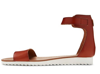 White sole sandal