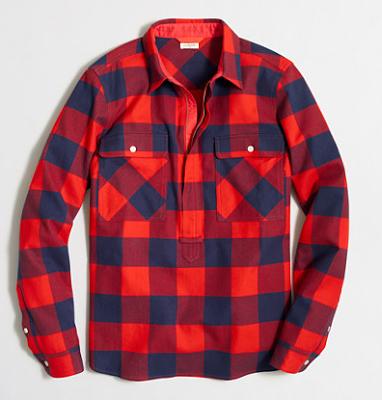 buffalo print shirt