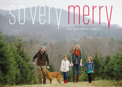 Minted Holiday Card Giveaway!!!