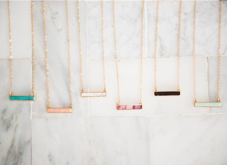 Semi-Precious Stone Necklaces 50% off!! + Early Black Friday Deals