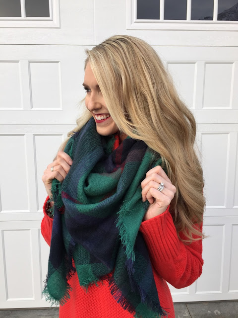 plaid scarves sale