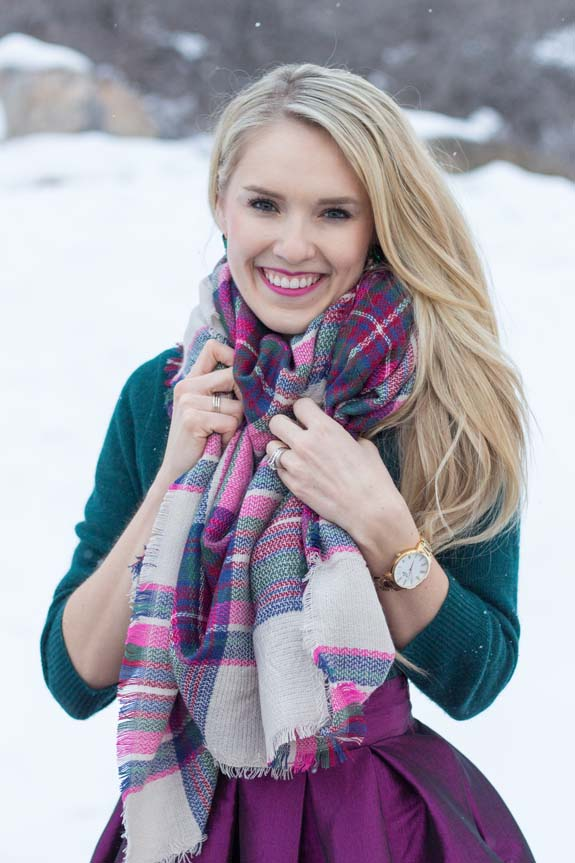 Cents of Style Skirt + Scarf!