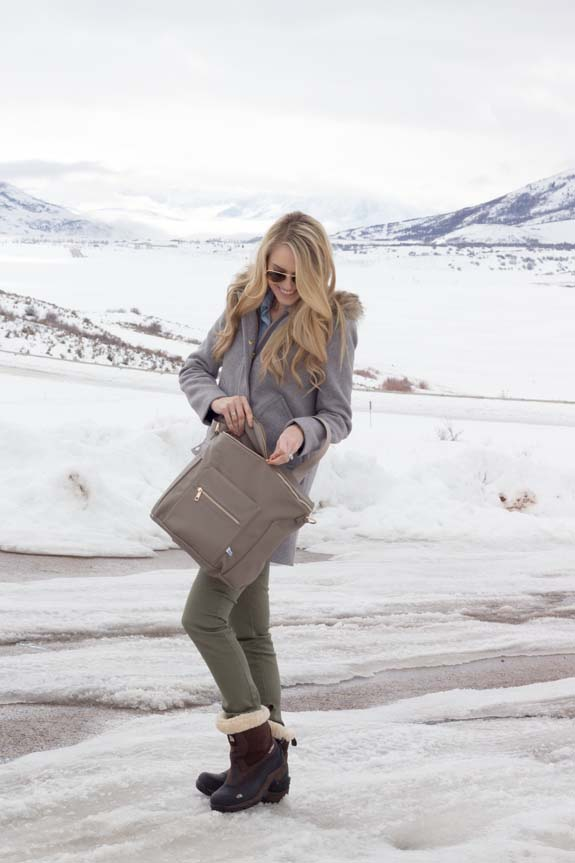 Fawn Diaper Bag, the best diaper bag, featured by top US life and style blog, A Slice of Style