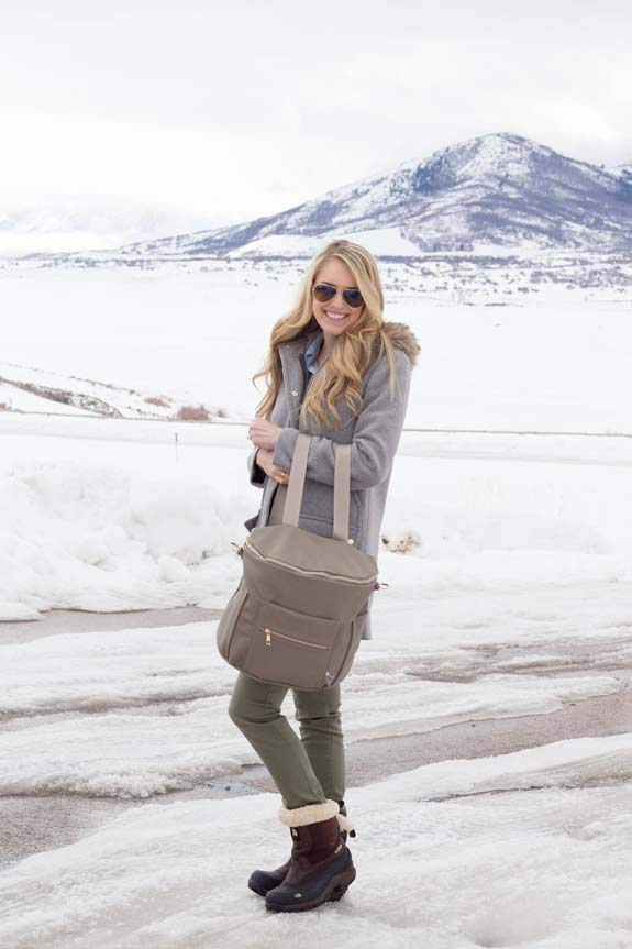 stylish backpacks | Fawn Diaper Bag, the best diaper bag, featured by top US life and style blog, A Slice of Style