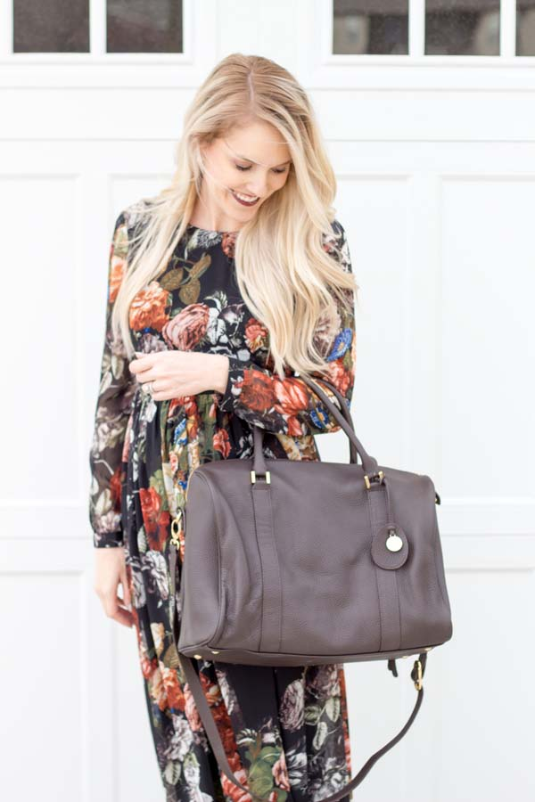 Pacapod Diaper Bags + Floral Maxi Dress!
