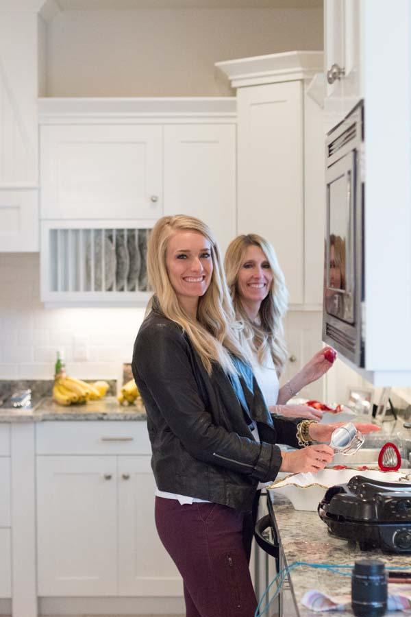 twins gender reveal cookies
