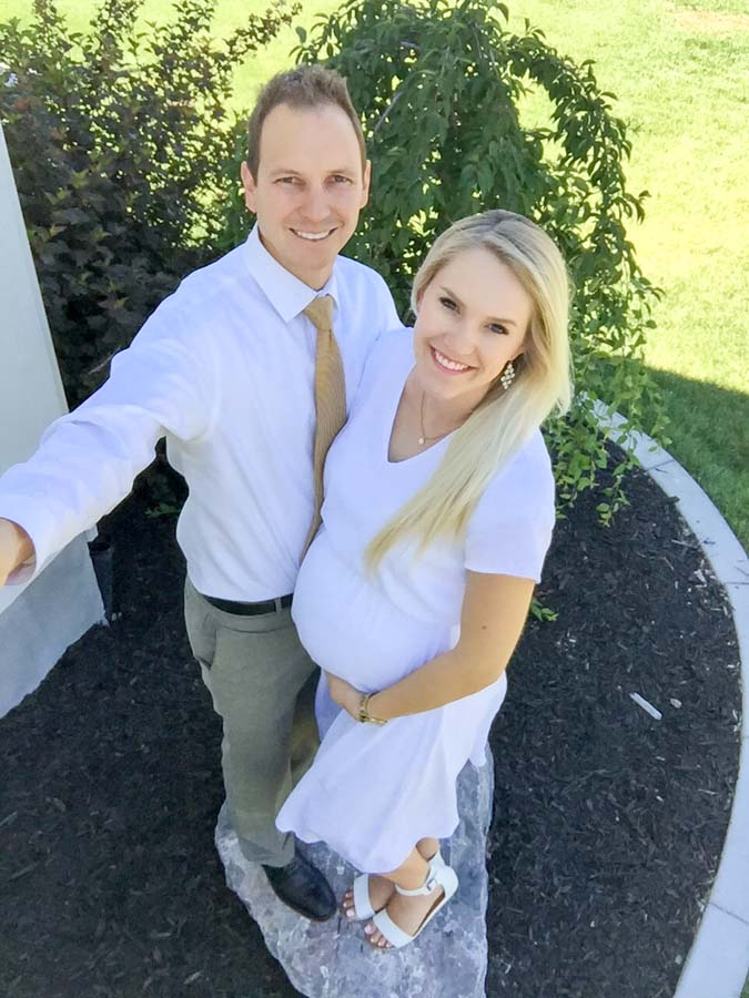 29 Weeks Pregnant with Twins! featured by top US life and style blogger and twins mom, A Slice of Style