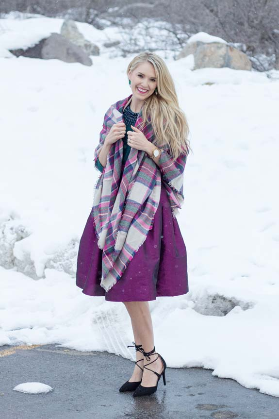Plaid Blanket Scarves Mega Sale!