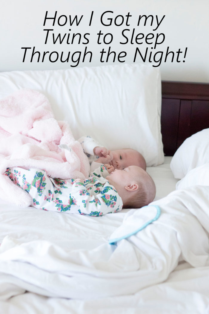 how-i-got-my-twins-to-sleep-through-the-night | How to Get Twins to Sleep Through the Night featured by top Utah lifestyle blog, A Slice of Style