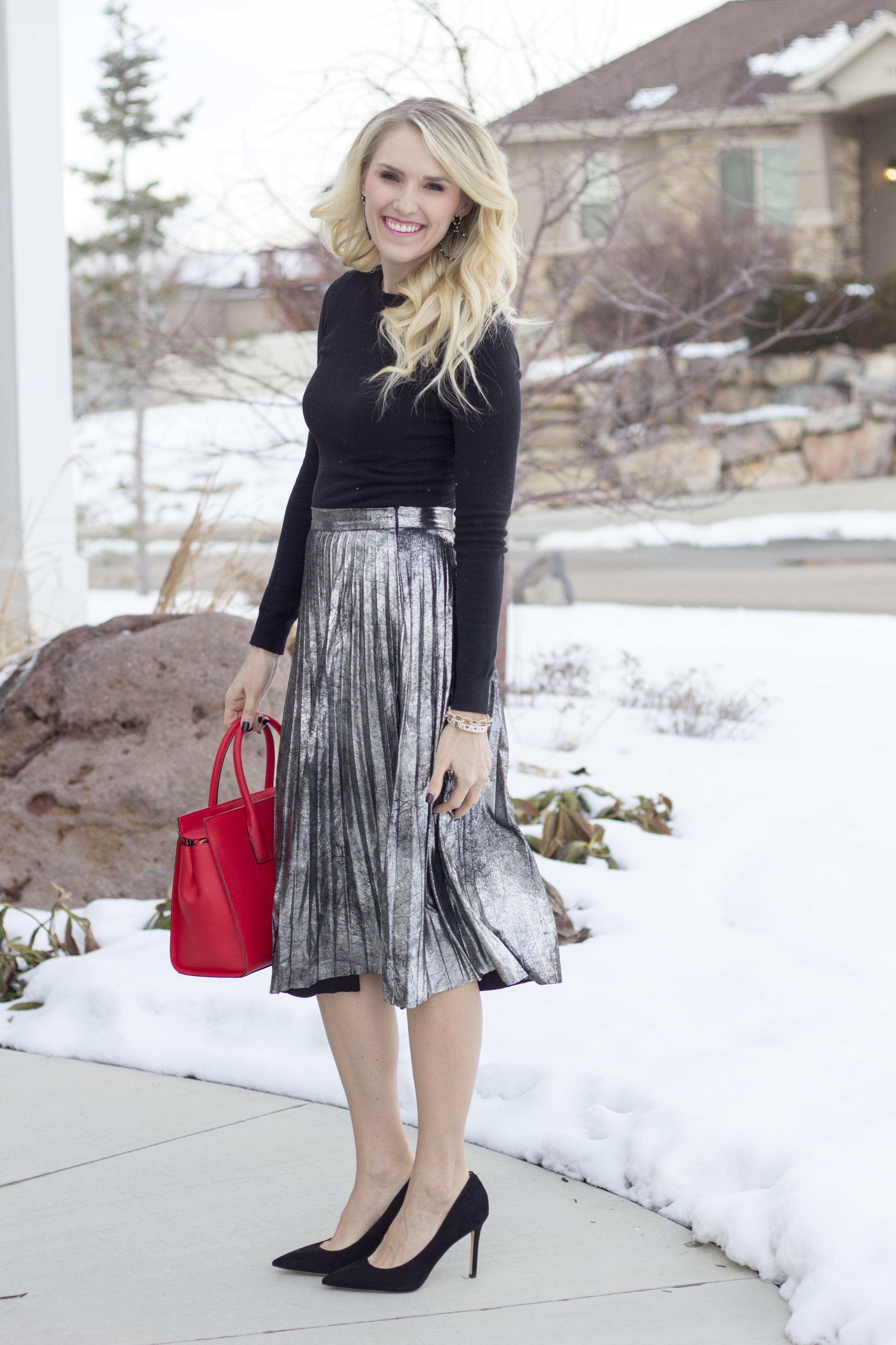 $29 Metallic Skirt