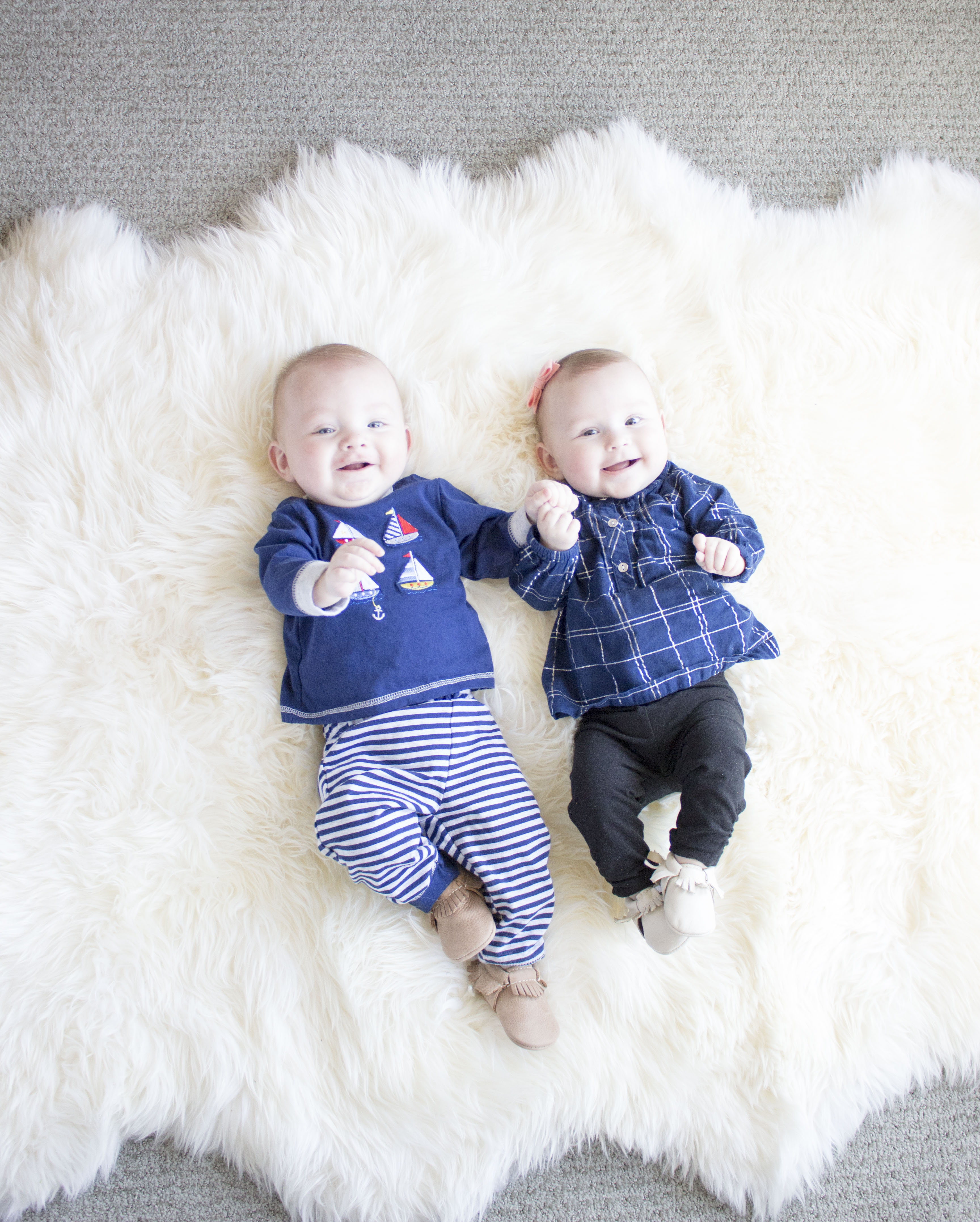 7 Month Old Twins!