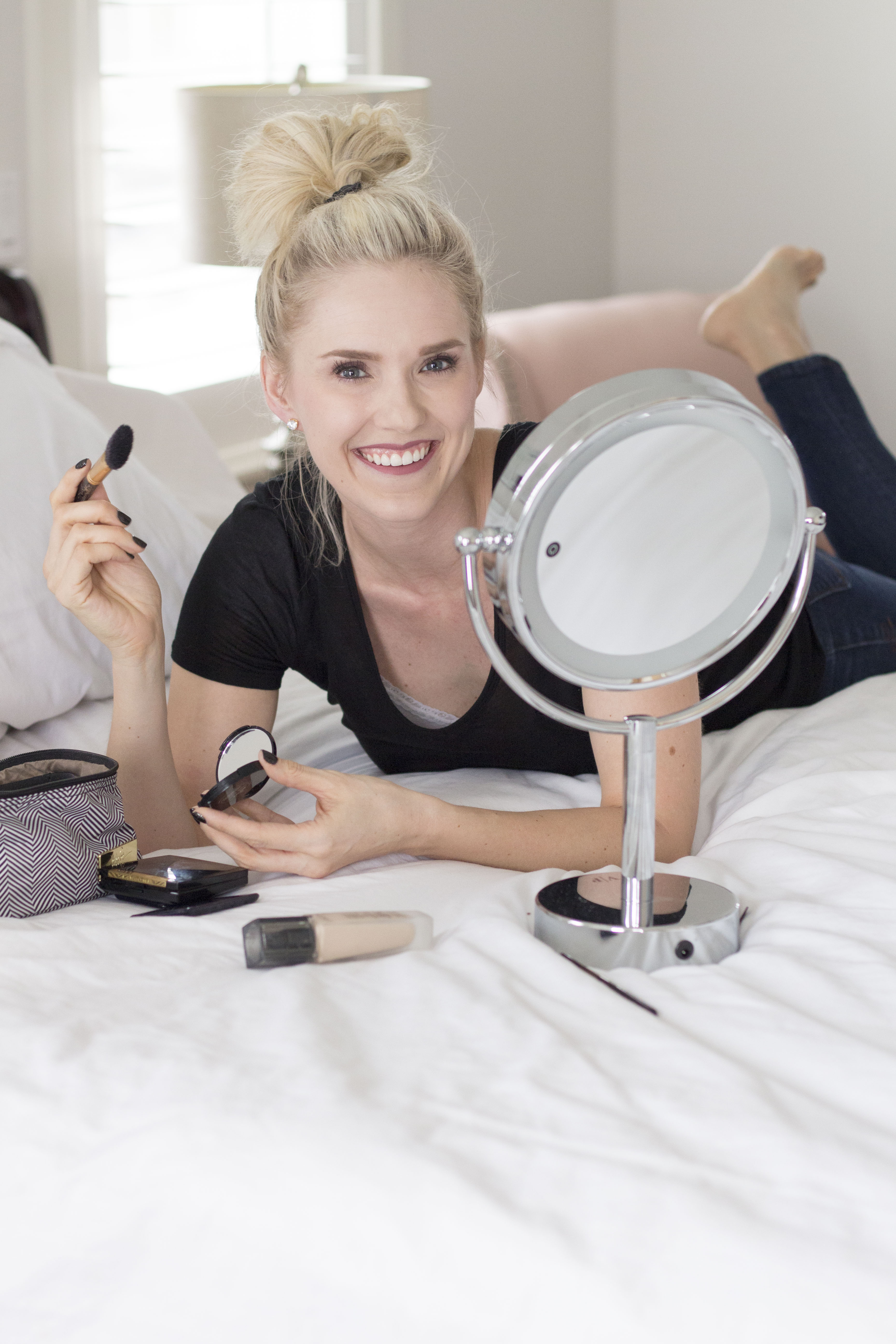 Easy Makeup Tutorial + Deal on Makeup Mirror!
