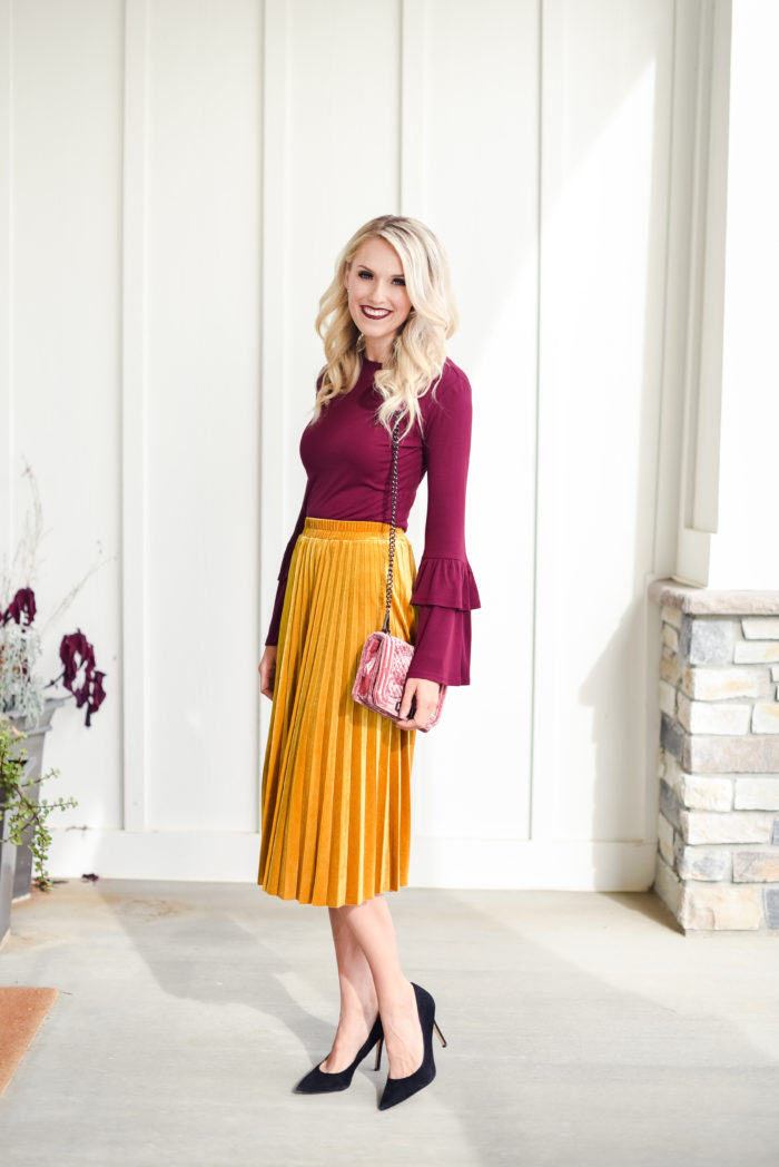 cute fall skirt nordstrom