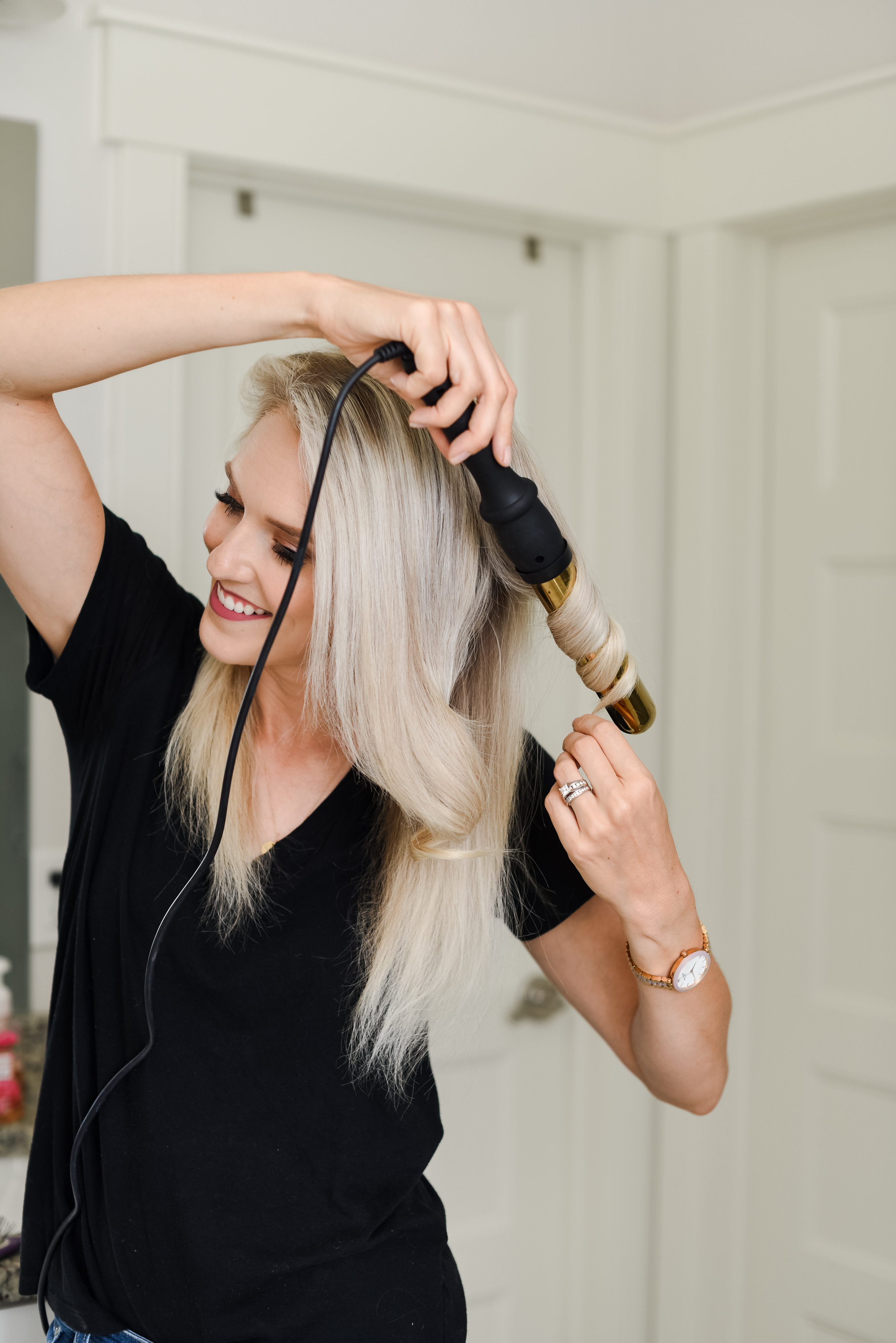 How to Curl Your Long Hair + Add a lot of Body