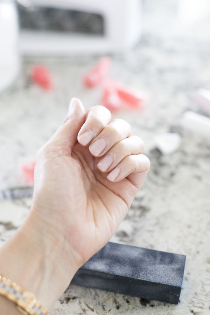 how to do gel nails at home featured by top Utah beauty blog, A Slice of Style: image of nail equipment