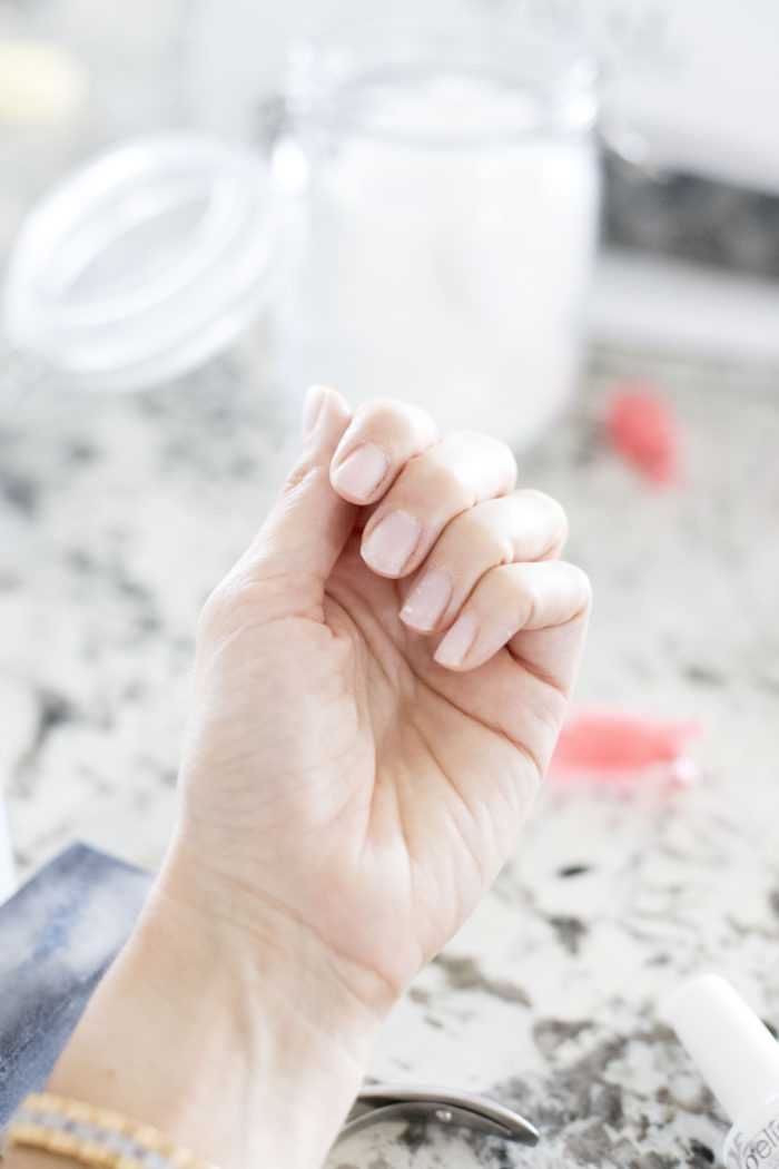 how to do gel nails at home featured by top Utah beauty blog, A Slice of Stylet