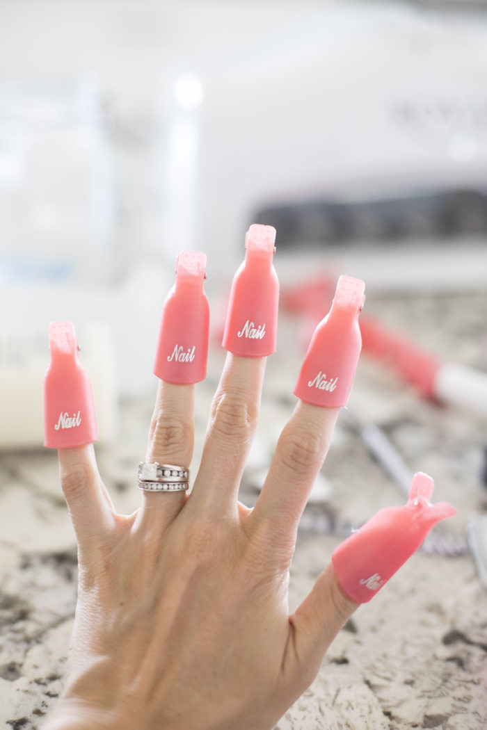 how to do gel nails at home featured by top Utah beauty blog, A Slice of Style