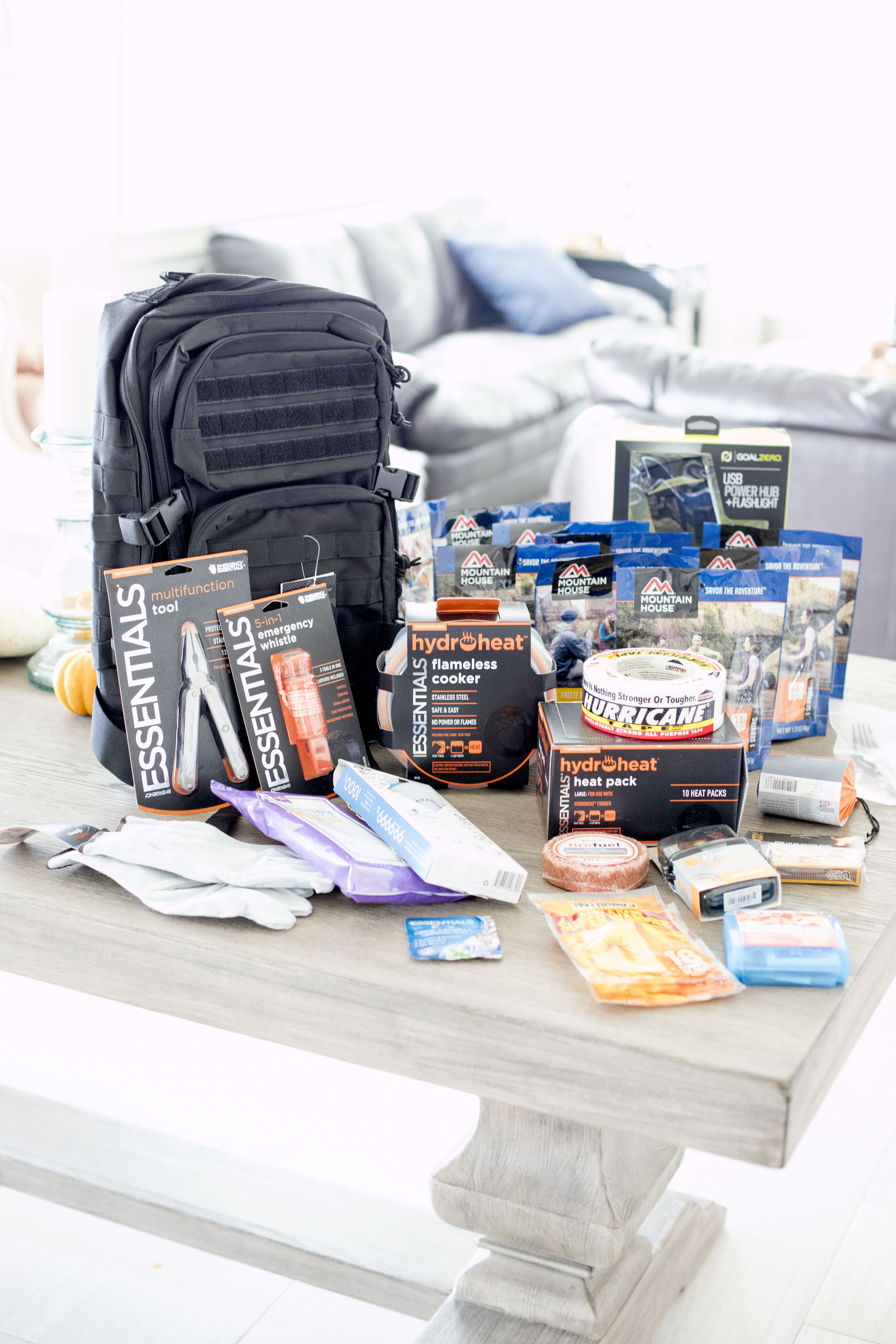 Emergency Essentials to Prepare for Natural Disasters