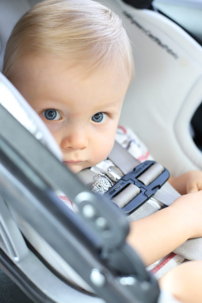 tips for road trip with baby