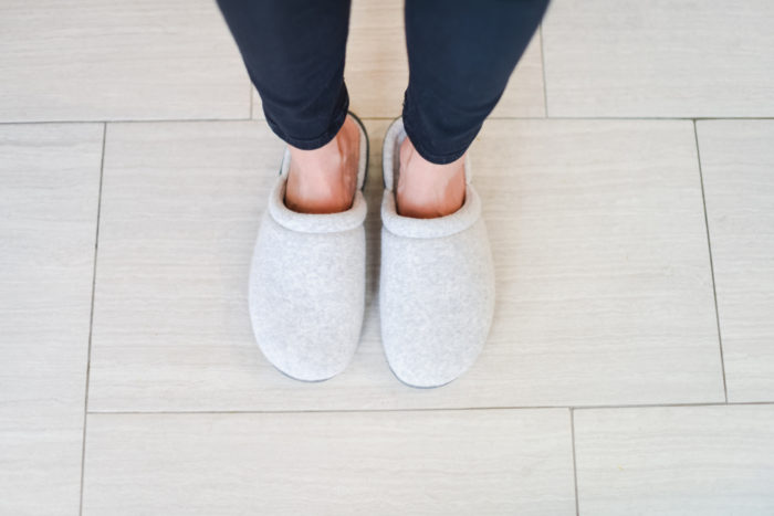 Most comfortable slippers | Apron | Cooking | My Favorite (Easy!) Christmas Cookies Recipe featured by top Utah foodie blog A Slice of Style