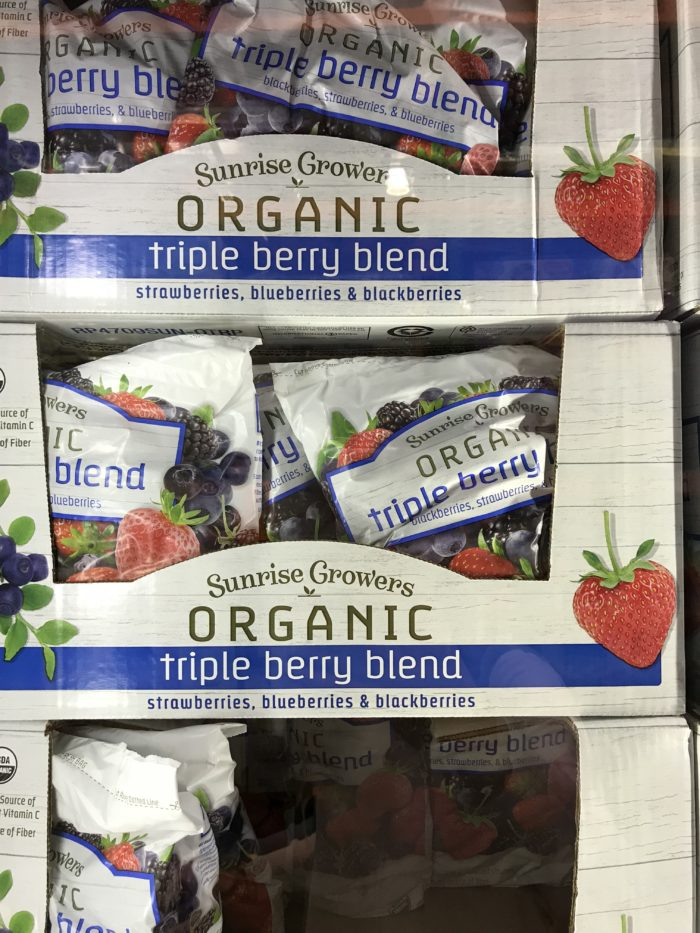 Costco staples and favorites featured by top Utah lifestyle blog, A Slice of Style: image of frozen berries