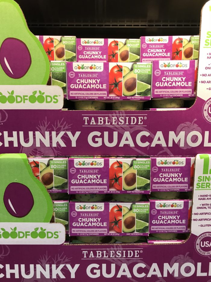 Costco staples and favorites featured by top Utah lifestyle blog, A Slice of Style: image of Goodfoods guacamole