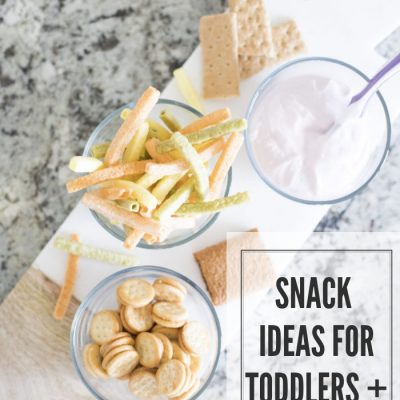 The Best Snack Ideas for Toddlers + Mama!