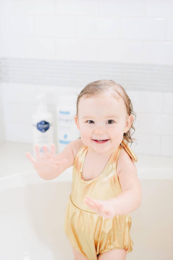 bath time Ivory soap
