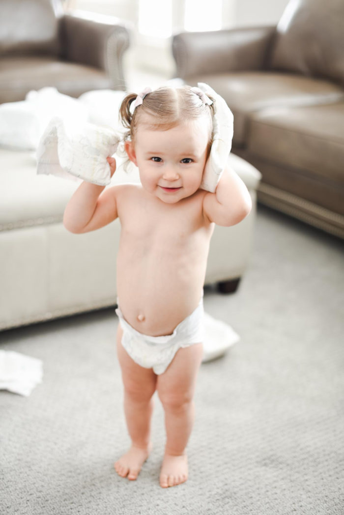 Pampers Pure Diapers and Wipes review featured by top US lifestyle blog, A Slice of Style