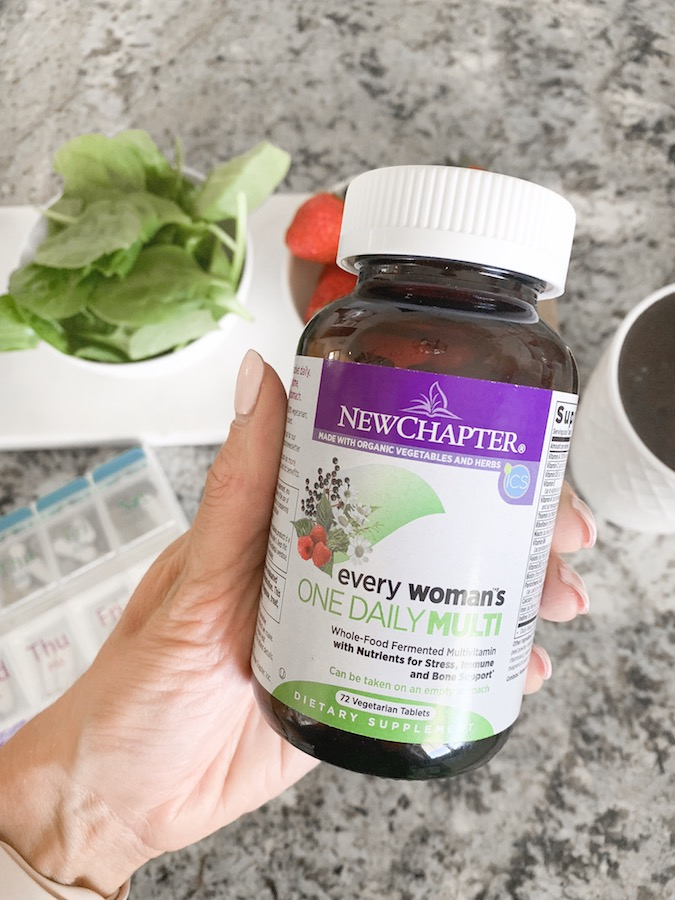 Health and Wellness | New Chapter Multivitamin: What to Look For in a Daily Multivitamin featured by top Utah life and style blog A Slice of Style