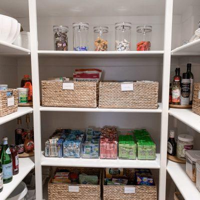 Pantry Organization Sneak Peak + Container Store Pantry Sale!