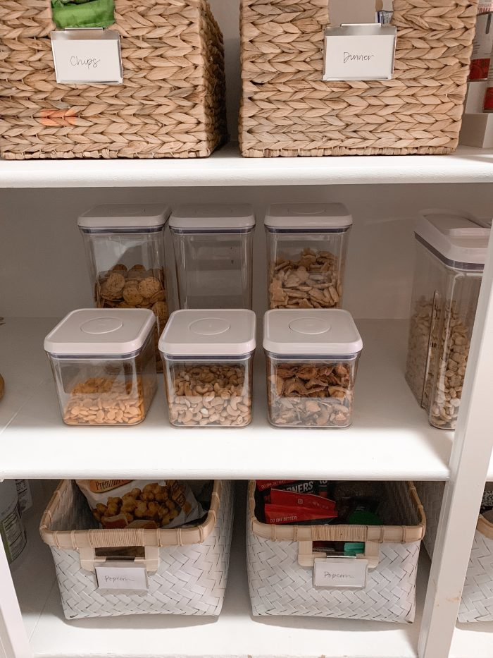 Pantry Organization Sneak Peak + Container Store Pantry Sale! featured by top Utah lifestyle blog A Slice of Style