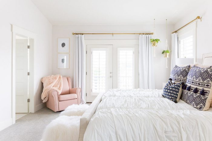 White Master Bedroom Ideas Home Tour A Slice Of Style