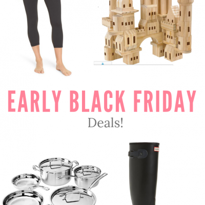 Early Black Friday Deals!