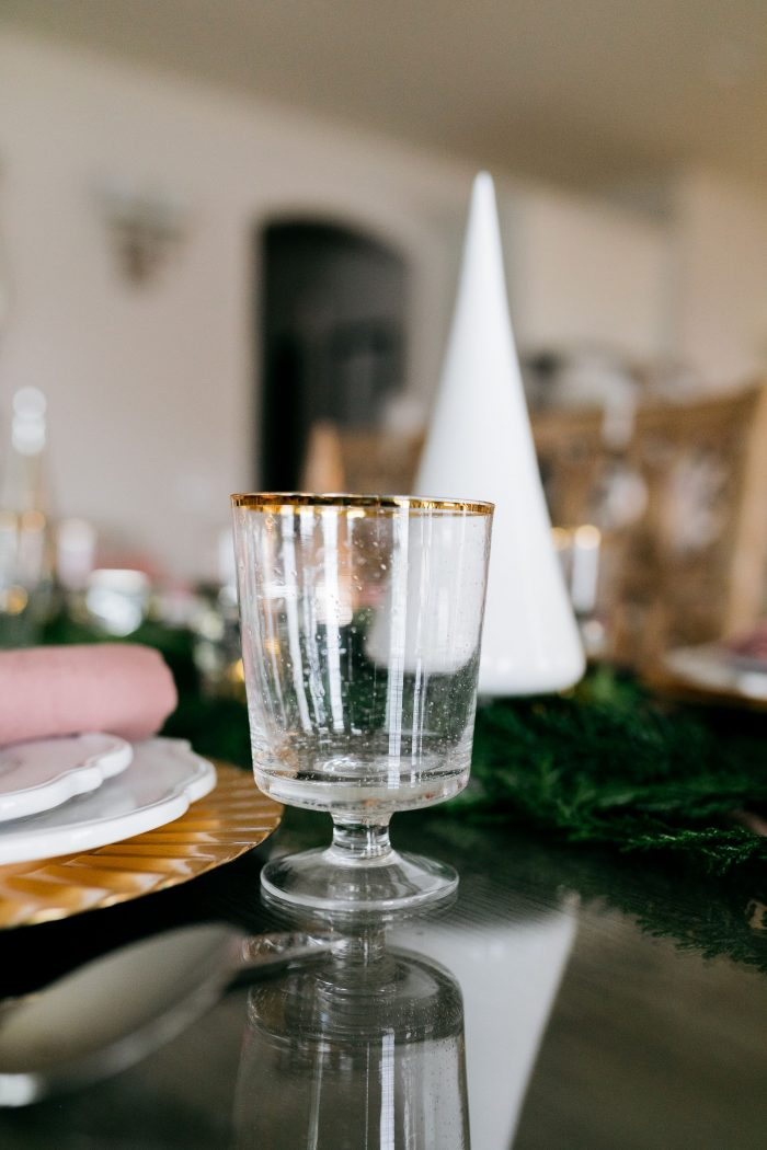 Holiday Table Setting featured by top Utah life and style blog A Slice of Style